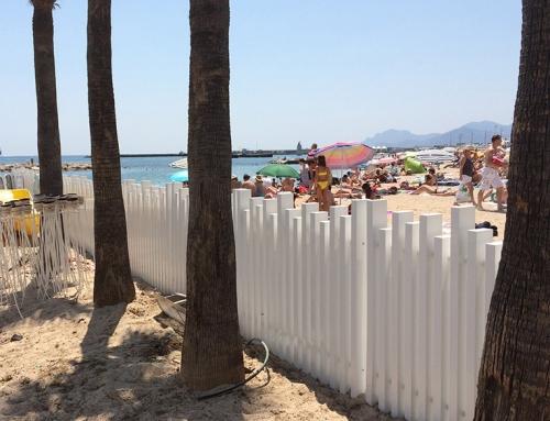 Réalisation d'une clôture déco PVC ajourée