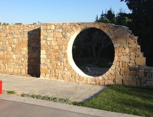 Réalisation d'un Mur Déco en pierre à Bâtir