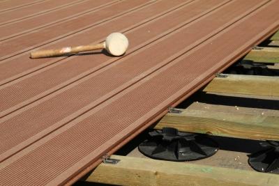 Fixation Lames Decking bois et composite