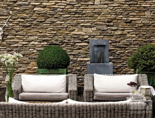 Réalisation d'un Patio intérieur en pierre