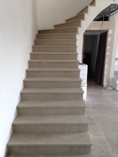 escalier en Atlantic Grey
