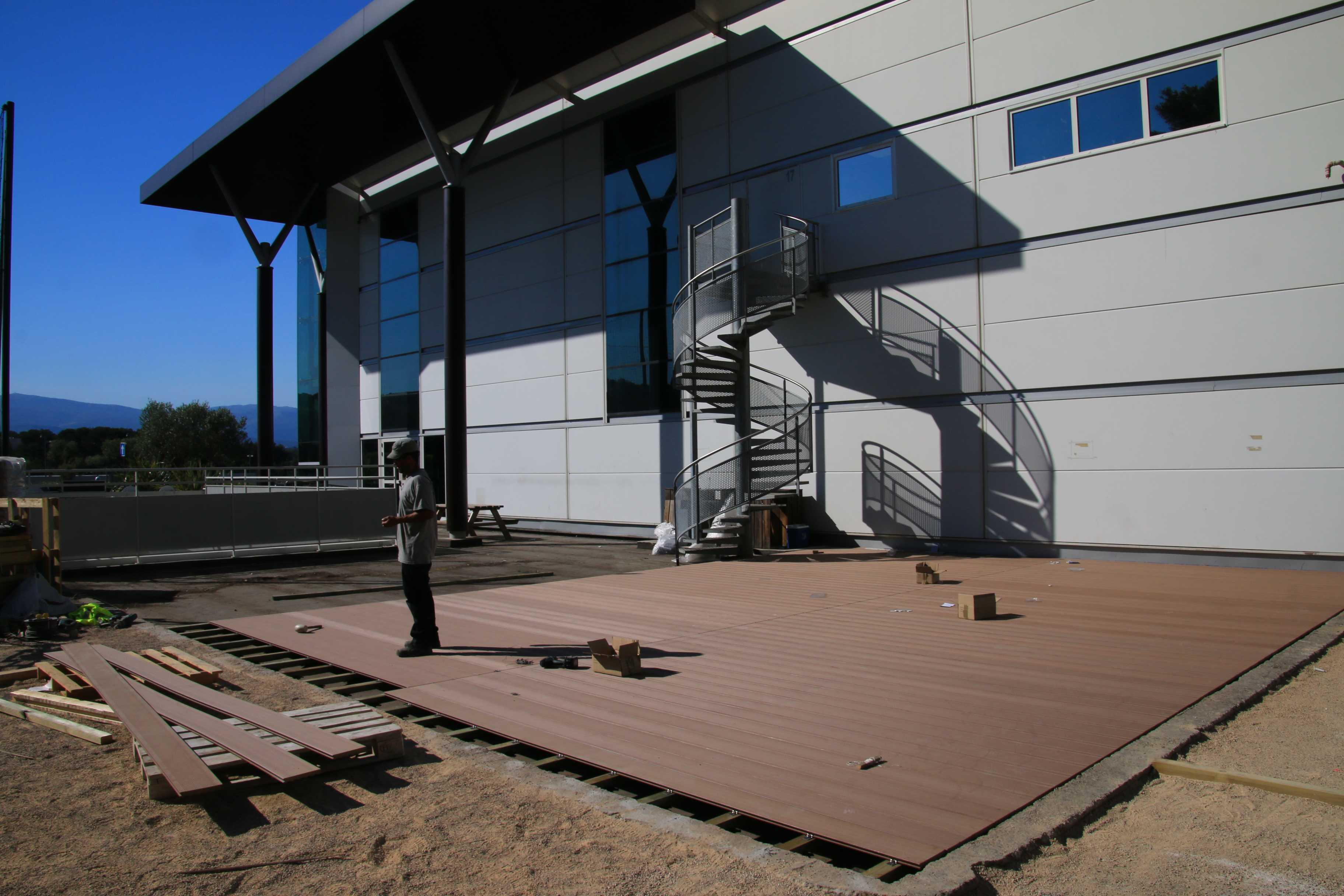 Finitions Decking bois et composite