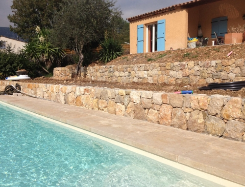 Pierres de sol nie beiges r alisation woodstone project for Realisation piscine miroir