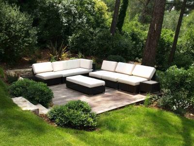 Deck de jardin en pin
