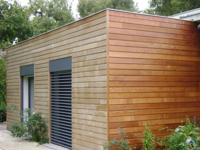 bardage jointif Red Cedar