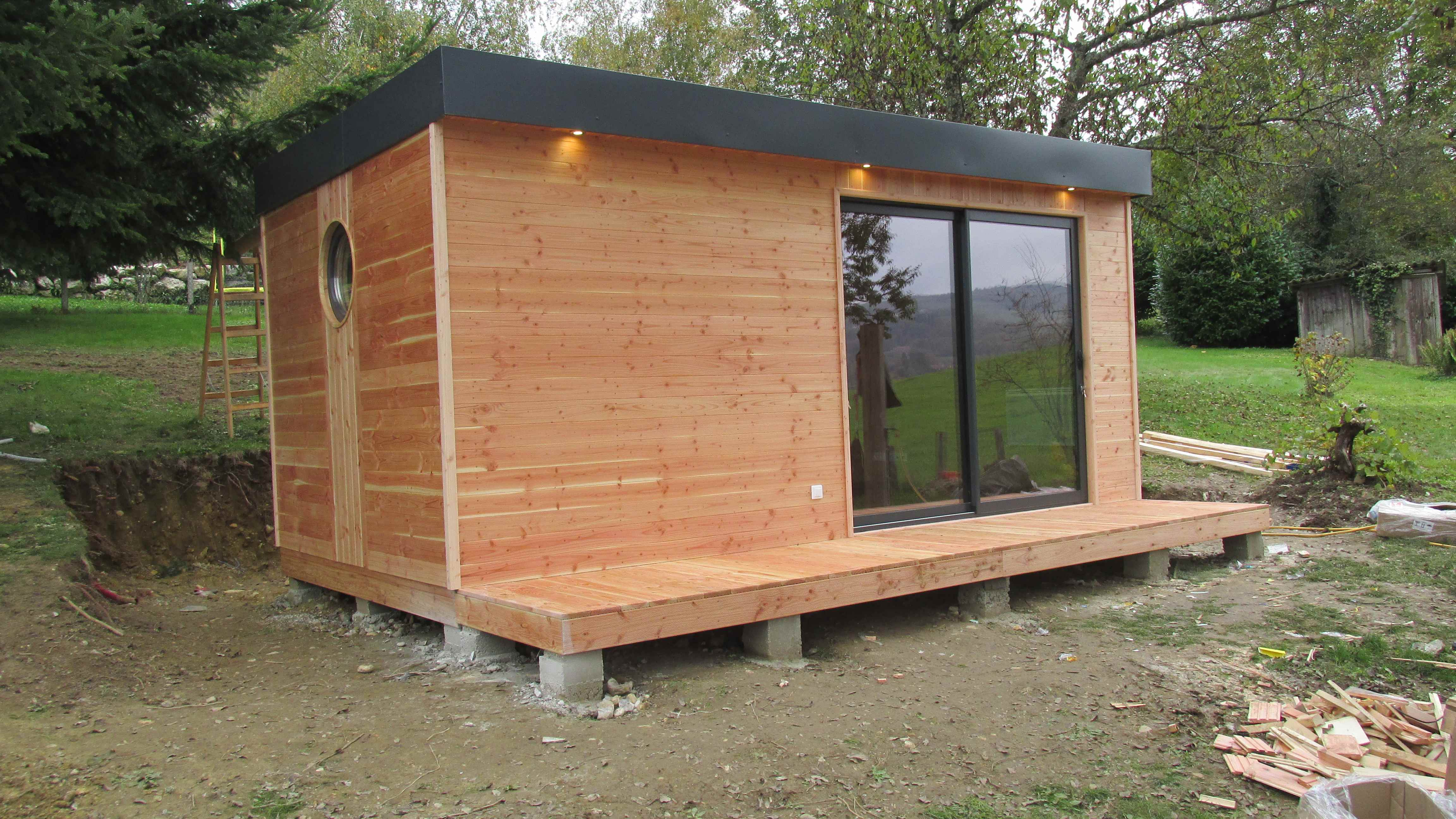 studio de jardin avec sanitaires et kitchenette