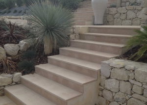 Escalier en atlantic beige