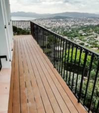 Balcon kebony
