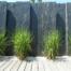 décor de jardin en schiste brut à Cannes